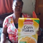 Golden's mom, breakfast January 2019